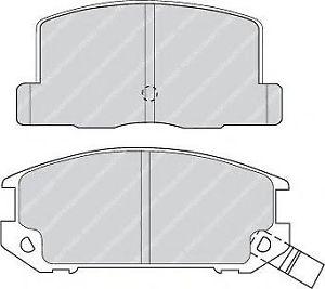 FERODO FDB4357 Brake Pads